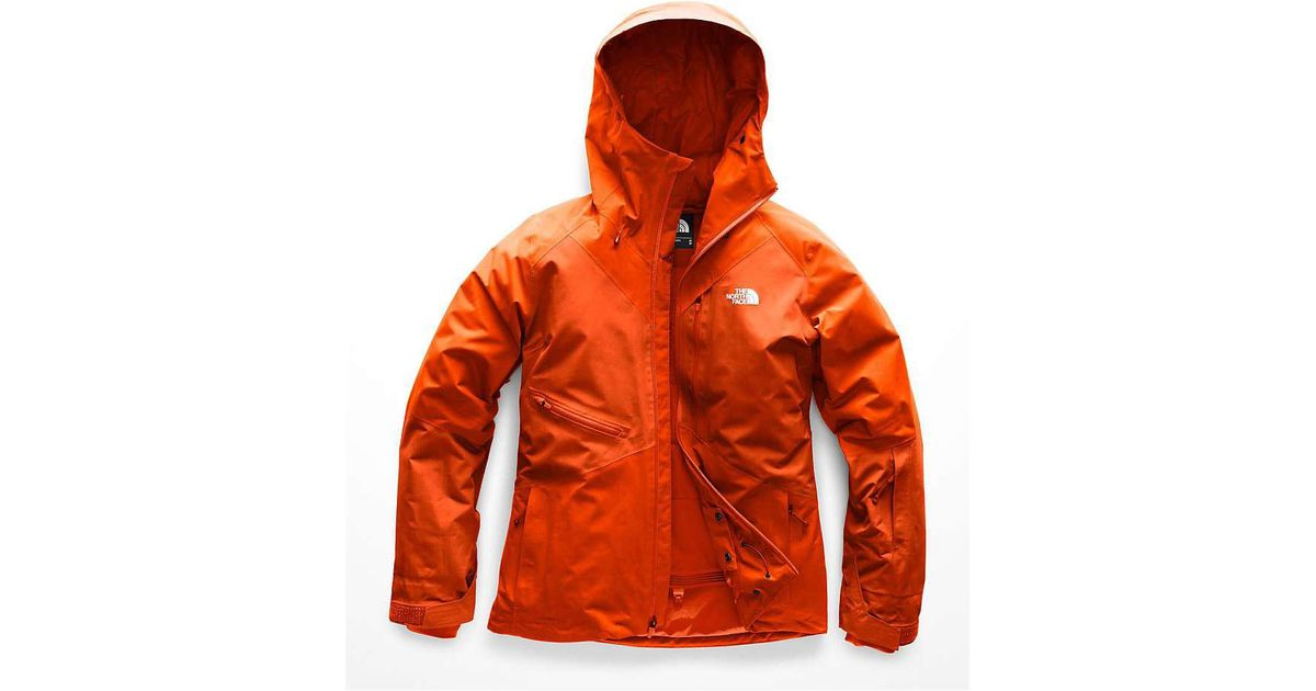 93d88273a The North Face Orange Lostrail Jacket