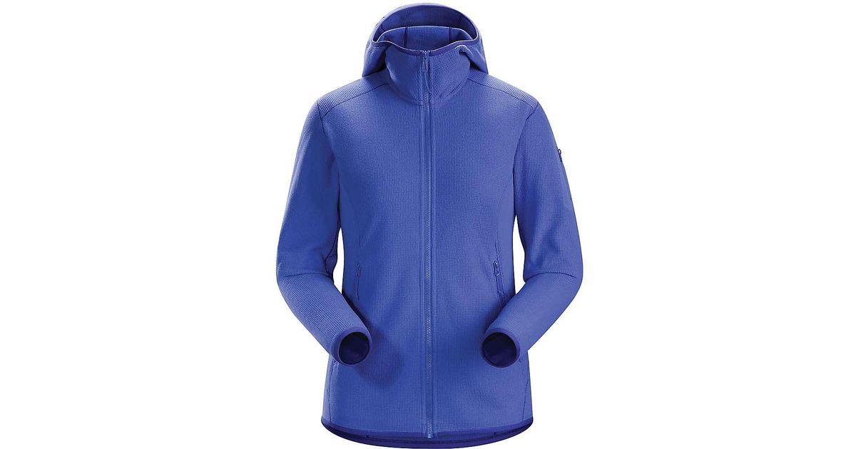 c673df3c8b1 Lyst - Arc'teryx Delta Lt Hoody in Blue