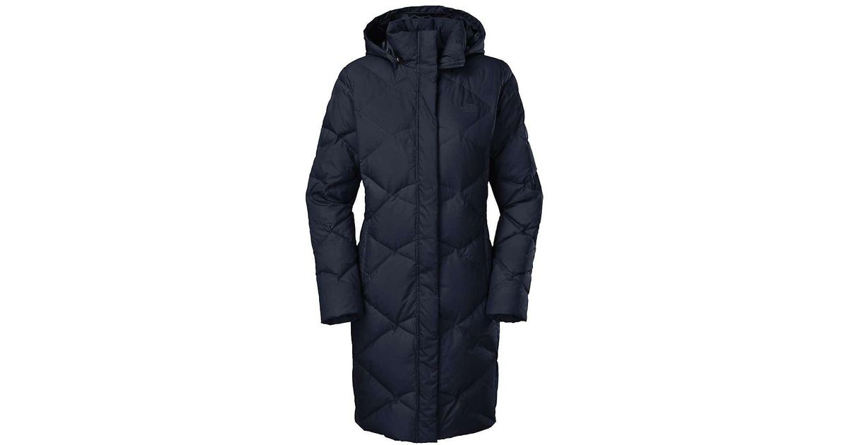 c0046dd543 Lyst - The North Face Miss Metro Parka in Blue