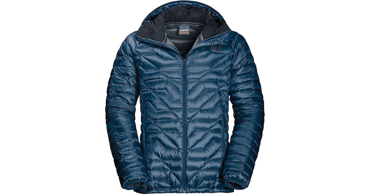 ead9a9711964 Lyst - Jack Wolfskin Argo Supreme Jacket in Blue for Men - Save 50%