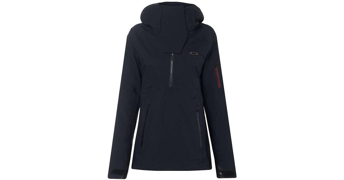 Lyst - Oakley Snow Shell 15k 3l Anorak Jacket in Blue 28c7a014b