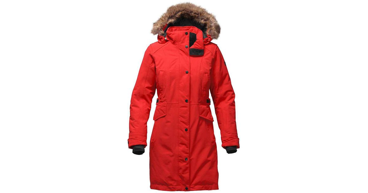 1c036bc55 The North Face Red Tremaya Parka