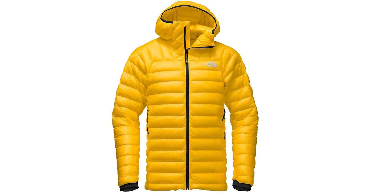 f74cddb14 The North Face Yellow Summit Series L3 Down Hoodie for men