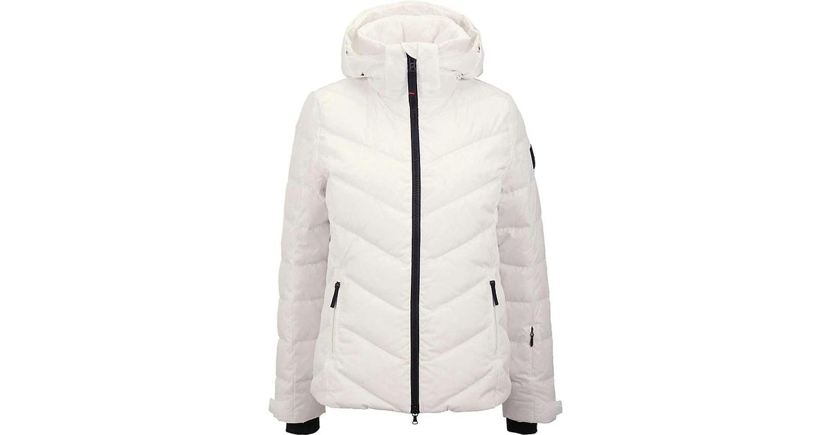 b865cc0d1f Lyst - Bogner Fire + Ice Sassy Down Jacket in White