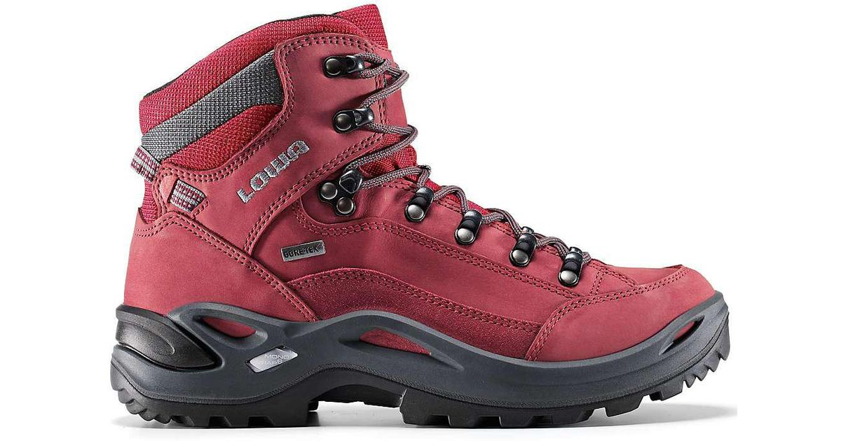 46962e52e68 Lowa Red Lowa Renegade Gtx Mid Boot