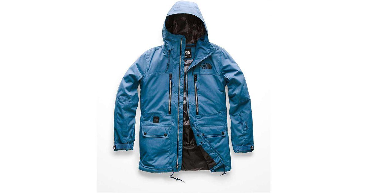 df99e1b4f The North Face Blue Goldmill Parka for men