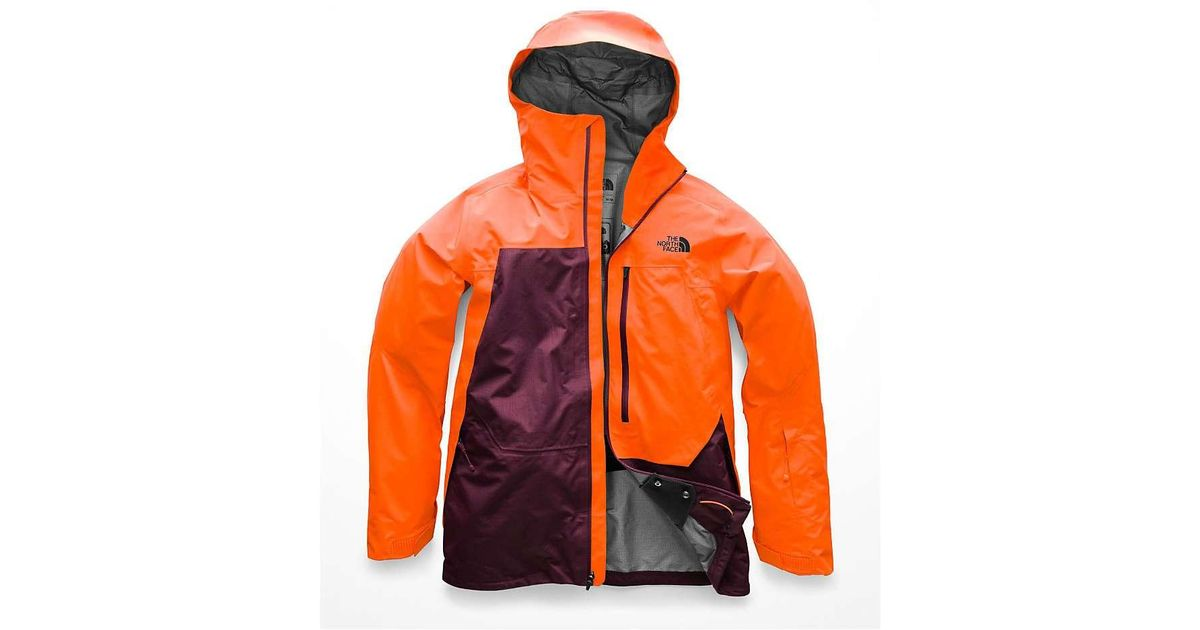 096f7fd2a The North Face Orange Free Thinker Jacket for men