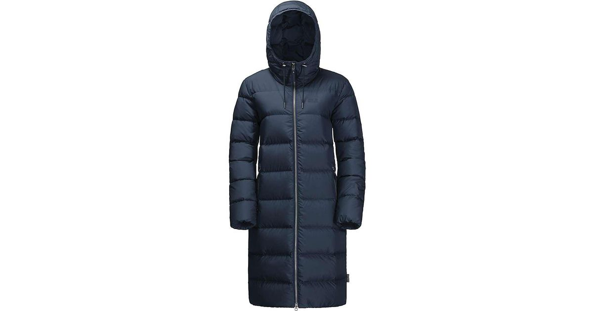637128f2dbf2 Lyst - Jack Wolfskin Crystal Palace Coat in Blue