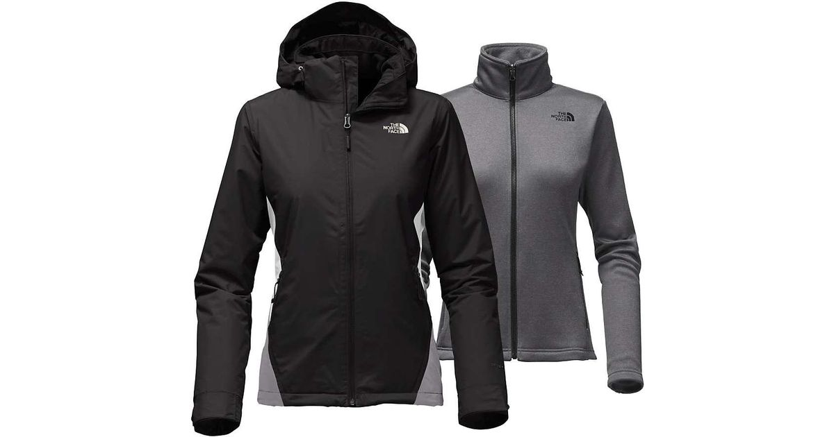 83b08c6e11 Lyst - The North Face Whestridge Triclimate Jacket in Black