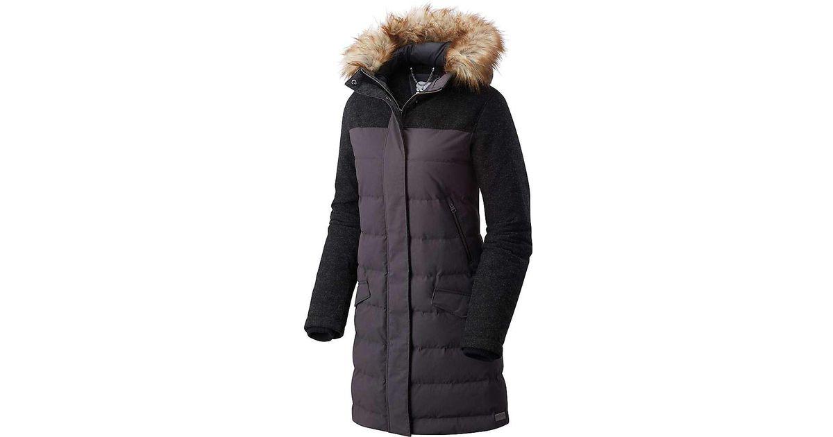 7cba86369 Sorel Black Tivoli Long Down Jacket