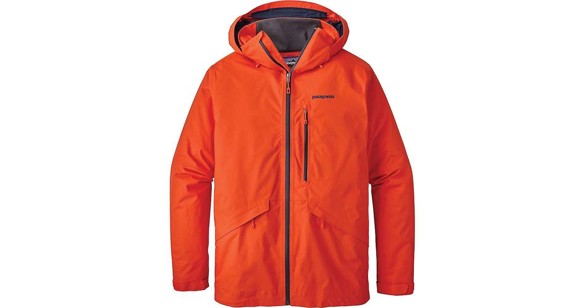 60136b7568d8 Patagonia Insulated Snowshot Jacket in Red for Men - Lyst
