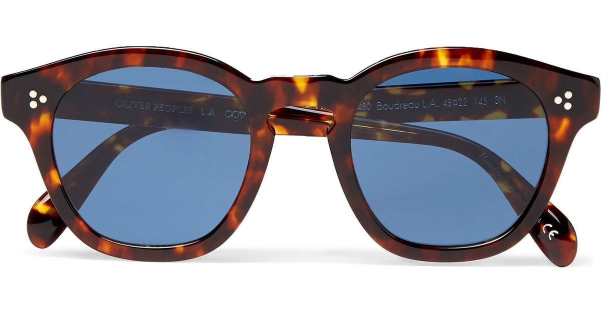 Boudreau Tortoiseshell a Acetate Lyst D L Frame Oliver Peoples 4wfq0xAE