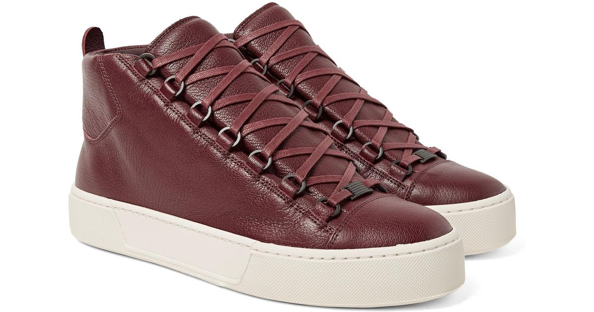 Balenciaga Arena Full-grain Leather