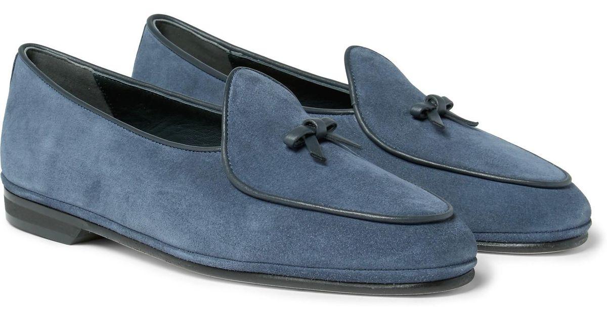 Ocean Marphy Suede Loafers Rubinacci NzPK4