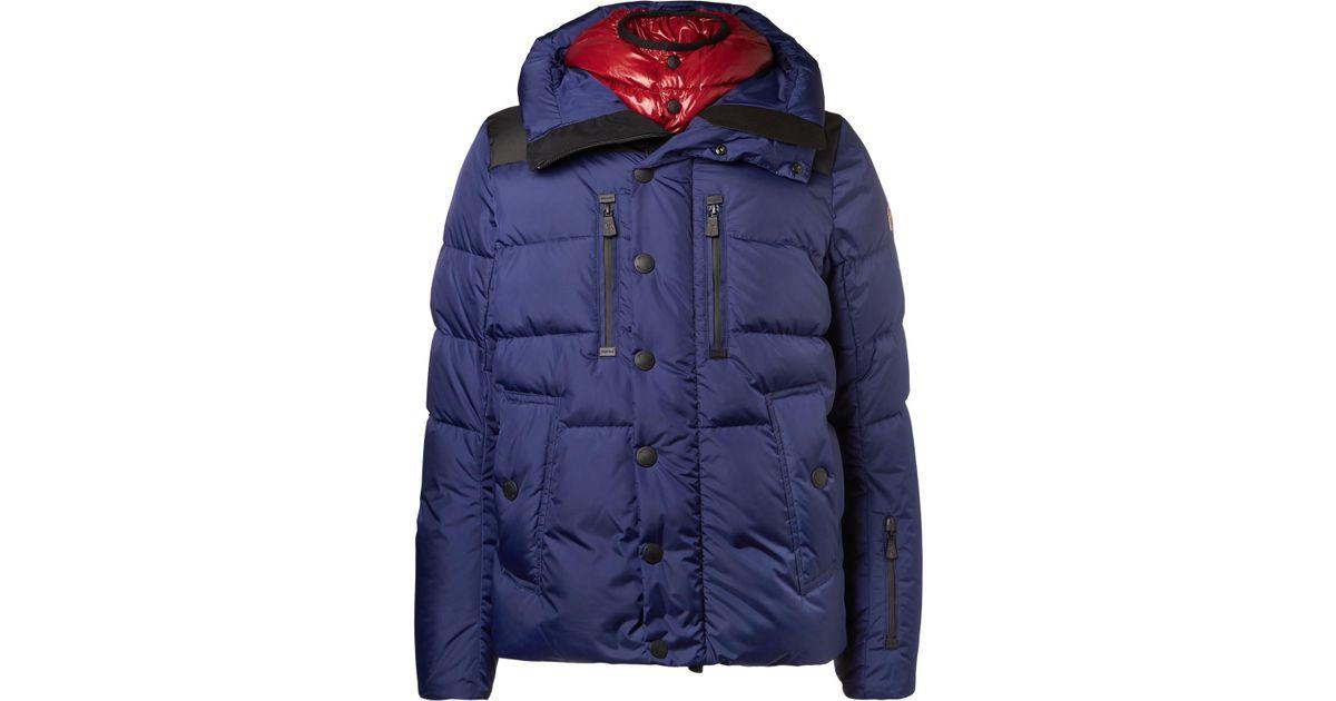 5b87d54a0 Moncler Grenoble Blue Rodenberg Quilted Down Ski Jacket for men