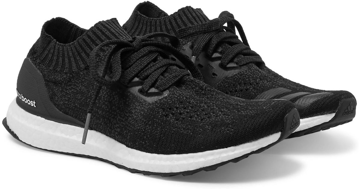 4afd1ac18 ... purchase adidas originals ultra boost uncaged mélange primeknit sneakers  in black for men lyst fa86a db583