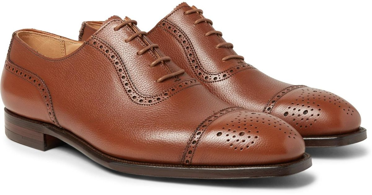 Adam Suede Oxford Brogues - BrownGeorge Cleverley 8FScCS9VmL