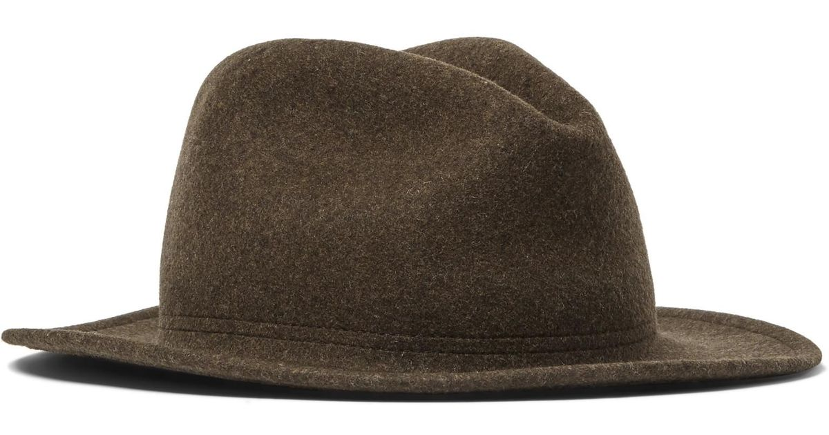 639d108c949ad Lock & Co. Rambler Rollable Wool-felt Trilby in Brown for Men - Lyst