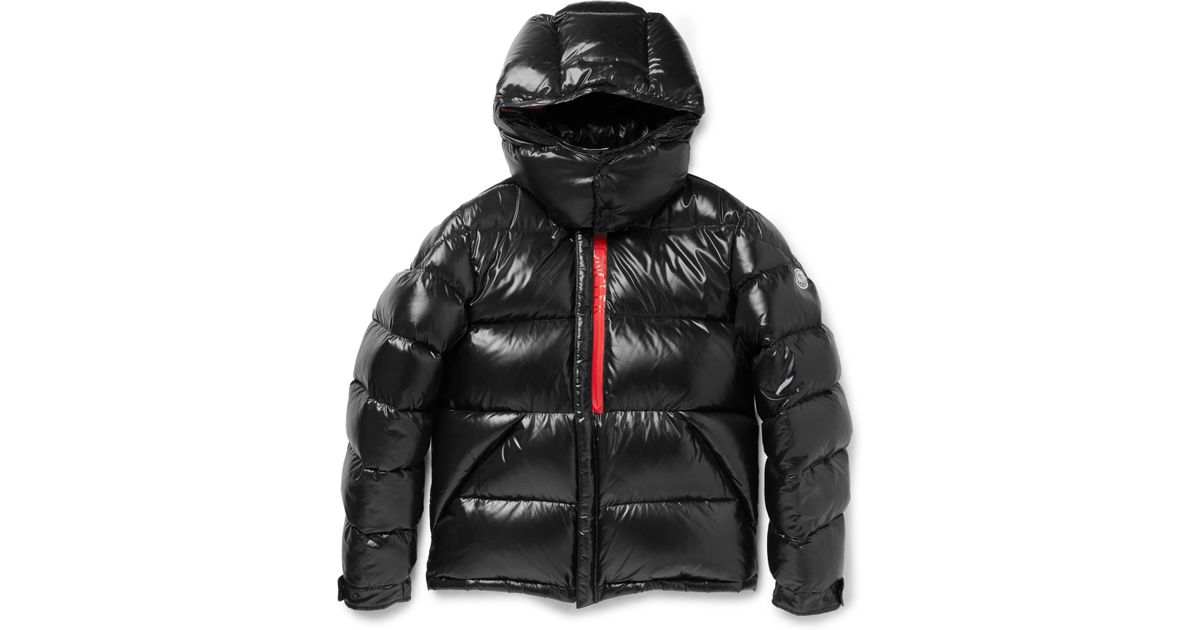 e29746936 Moncler Black Marlioz Quilted Shell Down Jacket for men