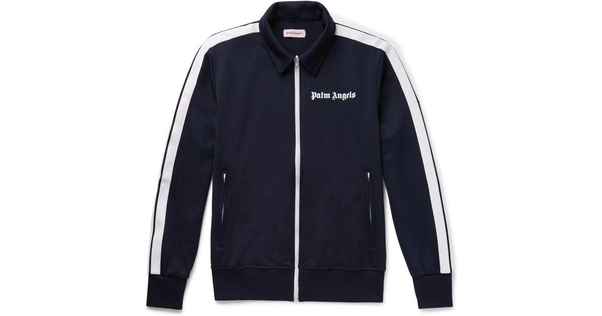 Palm Angels Little Kid's & Kid's Track Jacket - Dark Blue for men