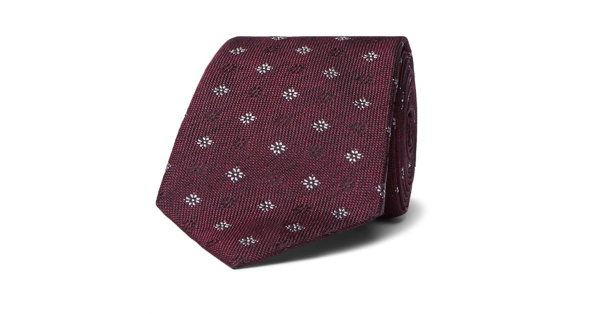 7.5cm Silk-jacquard Tie Brunello Cucinelli ur7Y6tw