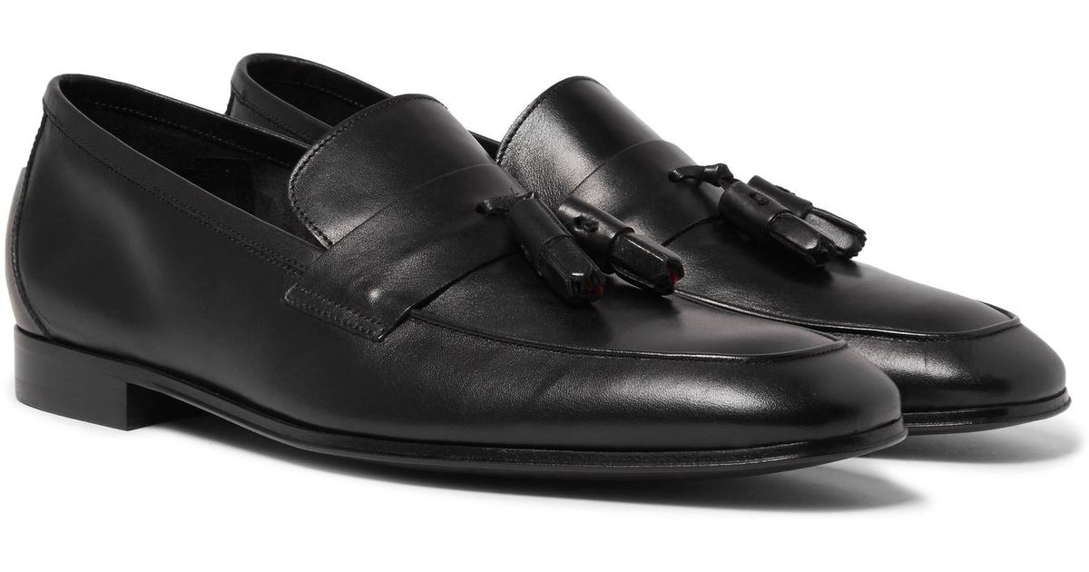 8fb5eeead93 Lyst - Paul Smith Glynn Leather Penny Loafers in Black for Men