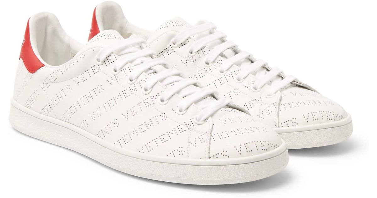 Vetements Perforated-logo Leather