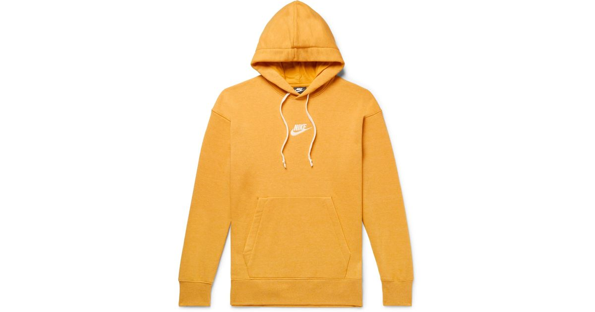 Nike Heritage Pullover Hoodie In Yellow 928437,752 for men