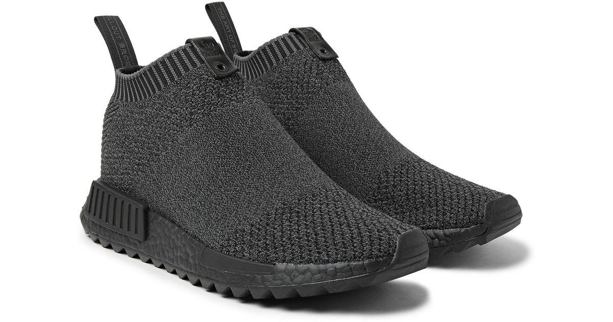 new concept e7bfc e2739 Adidas Originals Black The Good Will Out Nmd Cs1 Primeknit Sneakers for men