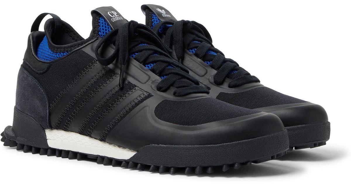 reputable site 97a8c 09fcc Adidas Originals Black C.p. Company Marathon Sneakers for men