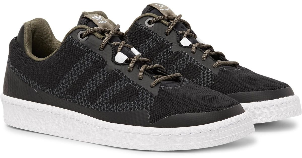 low cost sneakers the best attitude Adidas Originals Black + Norse Projects Campus 80s Agravic Primeknit  Sneakers for men