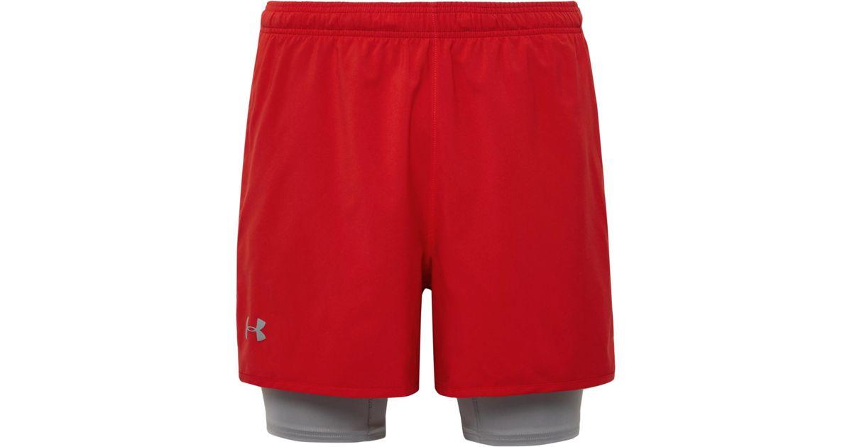 Qualificatif Coquille 2-en-1 Et Un Short Extensible Jersey Sous Armure 9TmSRi