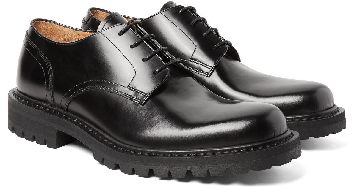 Dries Van Noten Polished-leather Derby