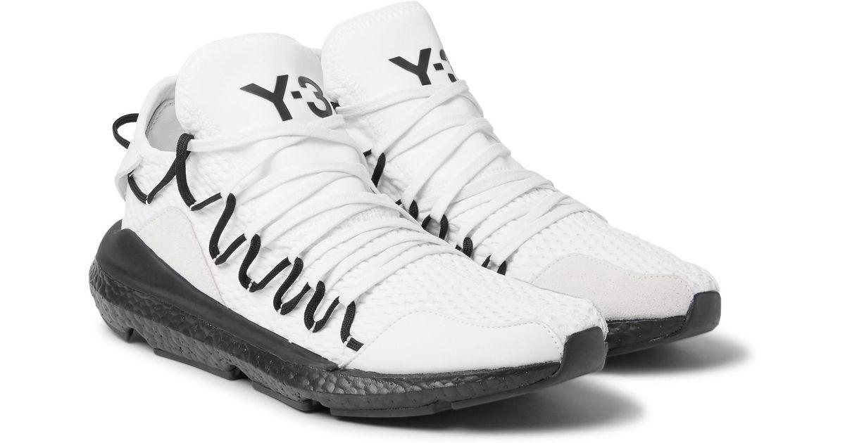 Men Suede 3 White Sneakers Trimmed Kusari Mesh For Y OPiwukTXZ