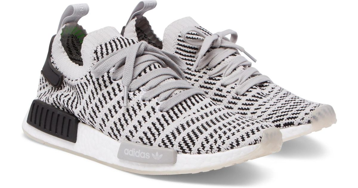 adidas Originals adidas Originals NMD R1 Primeknit Sneakers Men Black from Mr Porter US | more