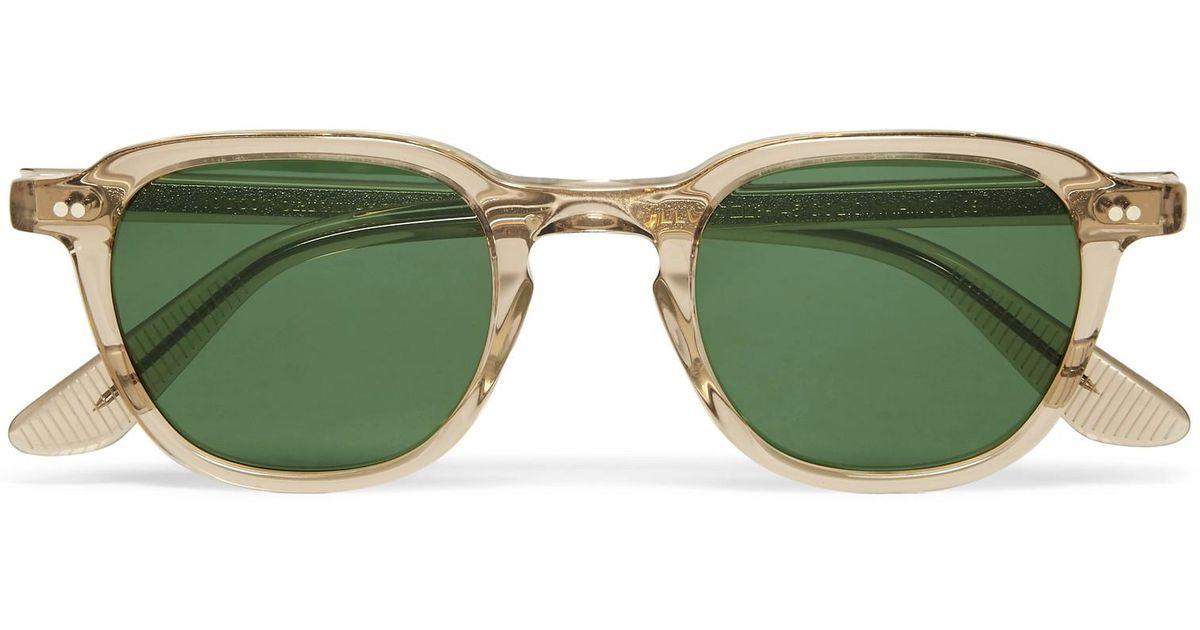b3e8849ff6 Lyst - Moscot Billik Round-frame Acetate Sunglasses in Brown for Men
