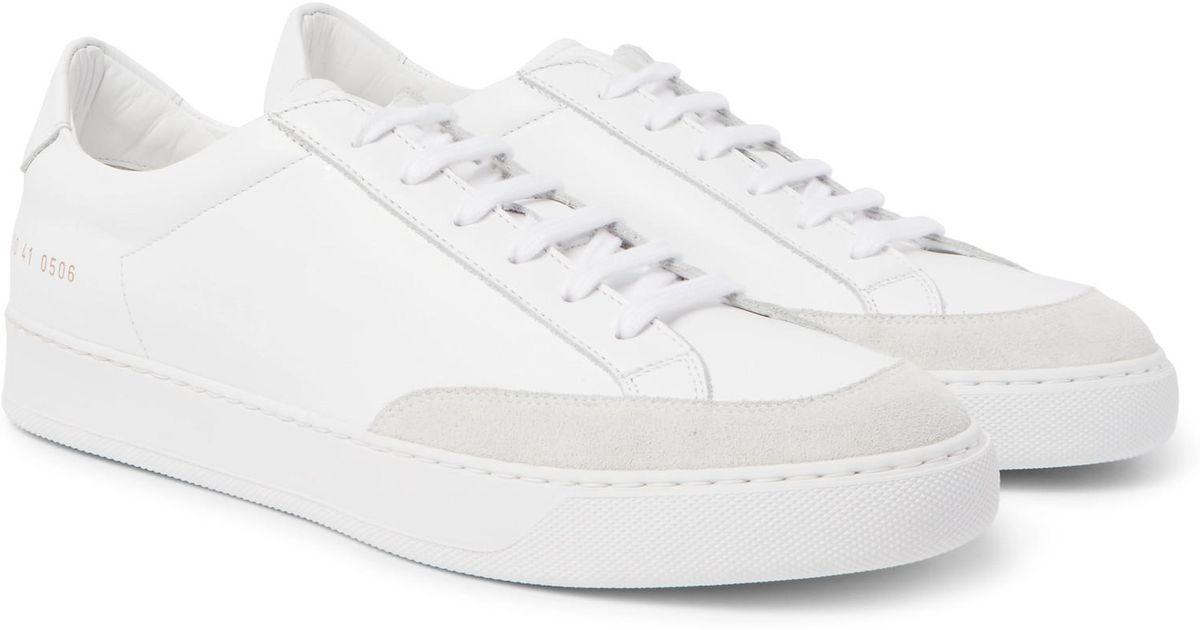 de Lyst zapatillas gamuza Projects cuero en recortadas Pro tenis Common  xwxY4qO 7701cbec6e90