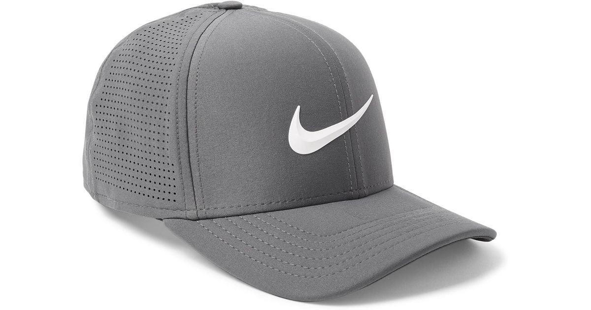 3a7dd99fb6cc5c Nike Aerobill Classic 99 Dri-fit Golf Cap in Gray for Men - Lyst