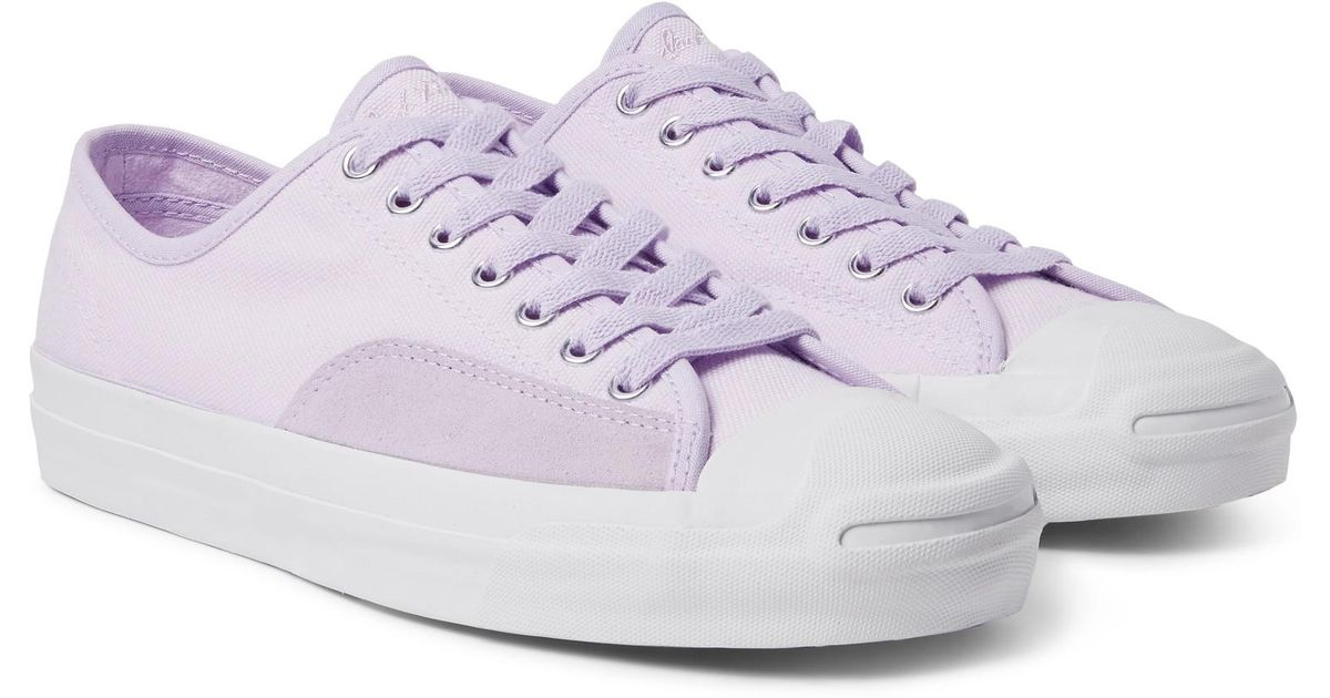 Converse Jack Purcell Pro Suede-trimmed