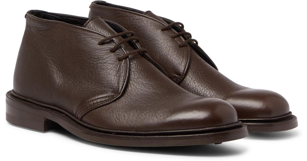 Tricker'S leather in Brown Chukka Boots Lyst for Textured Men Winston UrAU6