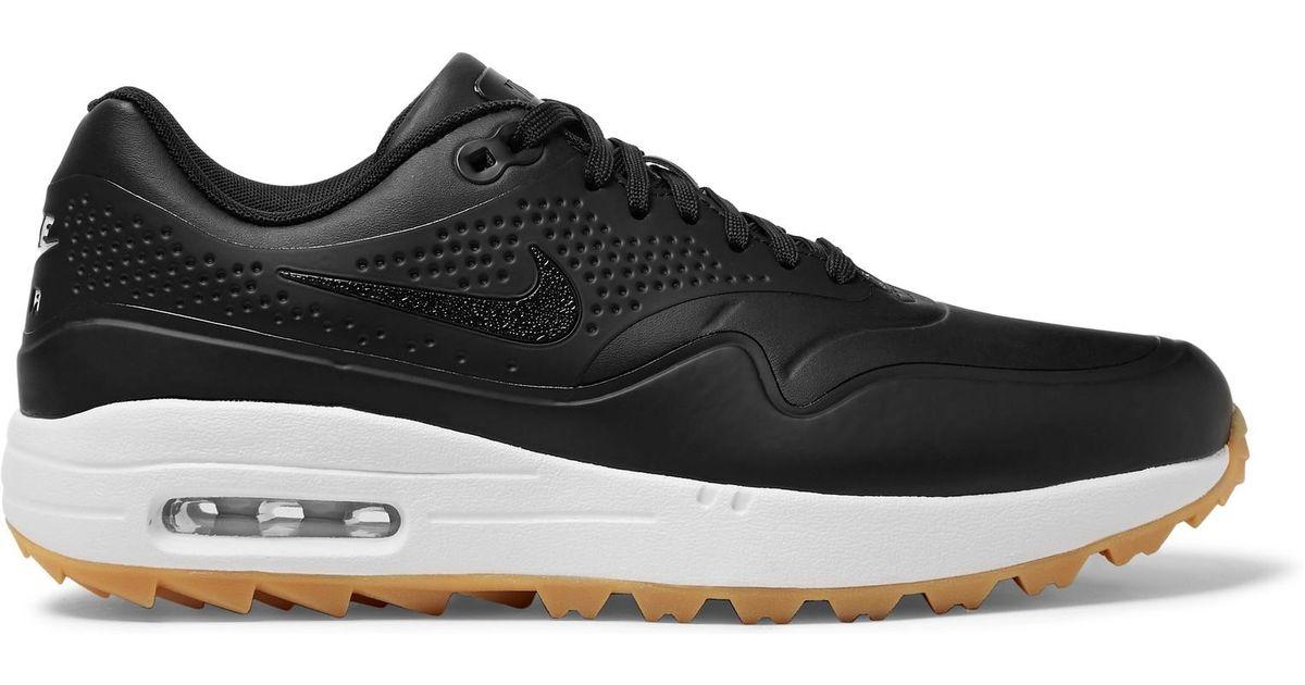 sale retailer 402e9 abc21 Lyst - Nike Air Max 1g (white white gum Light Brown) Men s Golf Shoes in  Black for Men