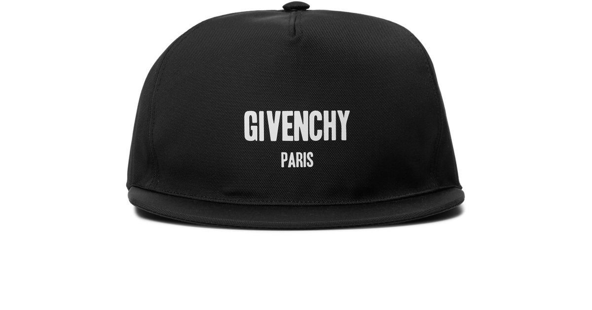 5f6caa03533 Lyst - Givenchy Printed Canvas Baseball Cap for Men