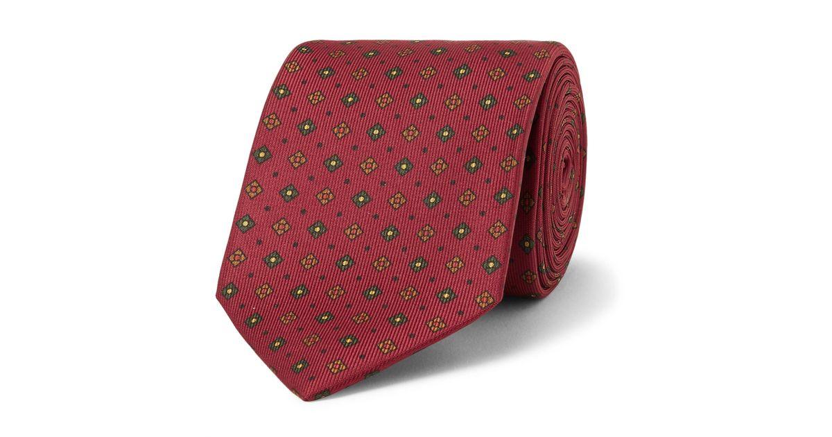 Easyday 7cm Soie Imprimée Cravate De Drake V9txTfcE1
