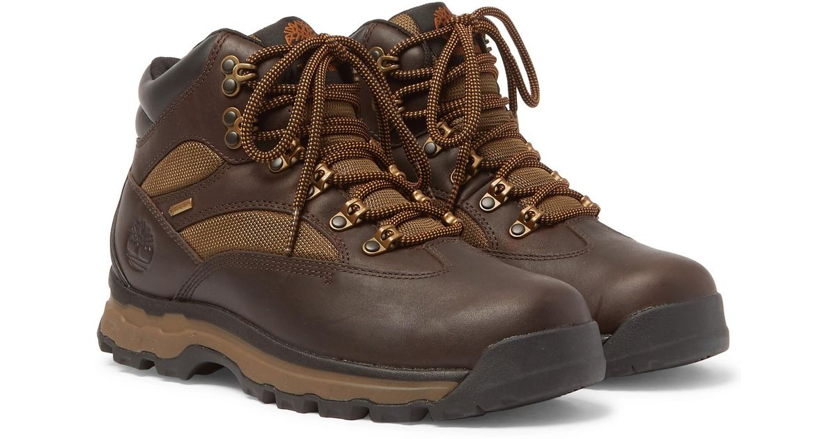 ad5d5a101d1 Timberland Brown Chocorua Trail 2 Leather And Gore-tex Hiking Boots for men
