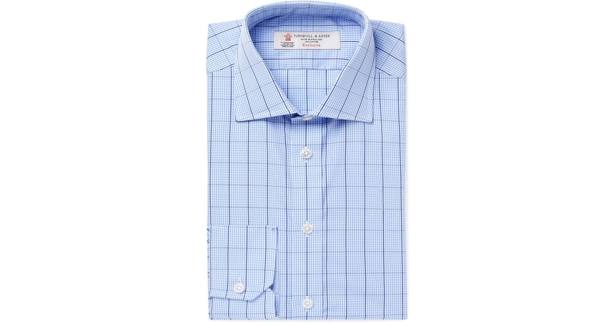 Light-blue Slim-fit Cutaway-collar Striped Cotton-poplin Shirt Turnbull & Asser Genuine Cheap Price Wiki Online Discount Release Dates Cheap Sale Countdown Package Top Quality Sale Online MwnMgIvU7