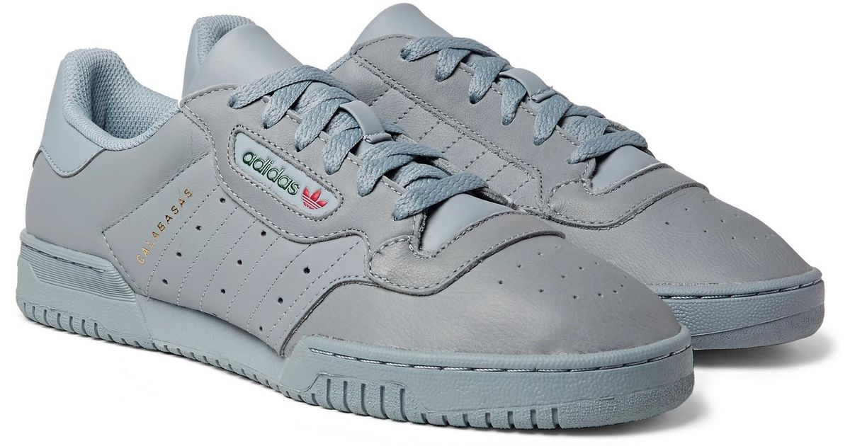 La selva amazónica ruptura Reclamación  adidas Originals Yeezy Powerphase Calabasas Leather Sneakers in Gray for  Men - Lyst
