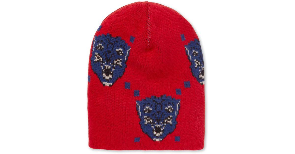 SurdiHommesionné Intarsia Laine Bonnet Gucci 0WrvLs