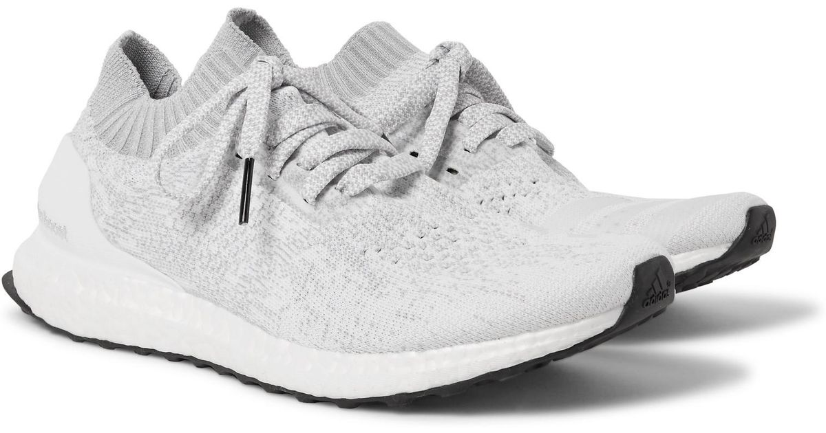 newest collection 3cb8d 79f57 Adidas Originals - Ultraboost Uncaged Primeknit Sneakers - White for men