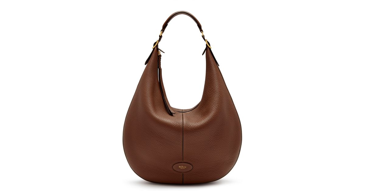 Mulberry Large Selby in Brown - Lyst 4441fccce1222