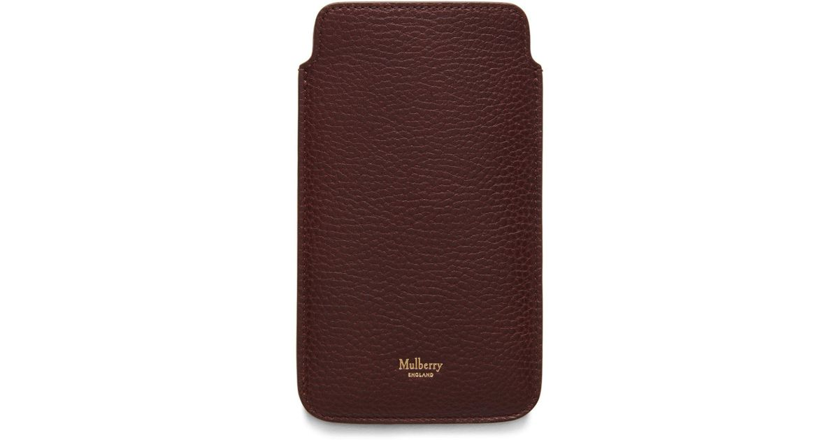Mulberry Iphone 6 Plus Cover in Oak